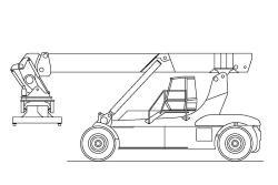 Kalmar DRF 450-60 S5 2005-2013 specs, operator's manuals