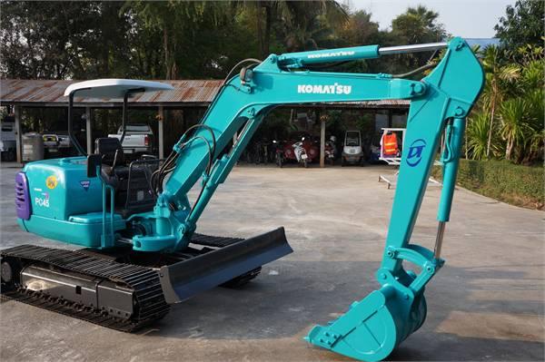 Used Komatsu Pc45r 8 Mini Excavators