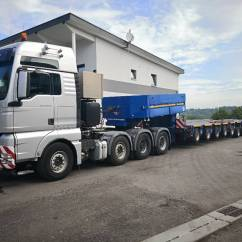 Semi Trailers For Sale In Germany Square D Gfci Wiring Diagram Used Goldhofer Pendelachsmodule Thp St 3 43 4
