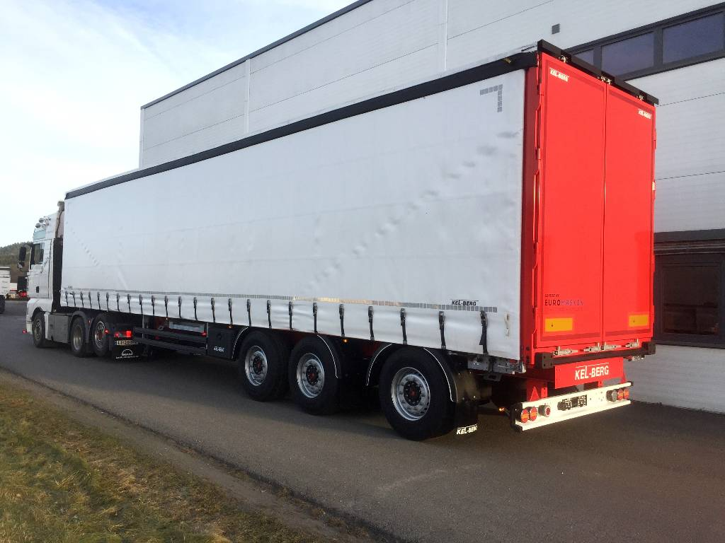 semi trailers for sale in germany two speed motor wiring diagram 3 phase used kel berg d100v 18 tonns kingpin 9 gulv