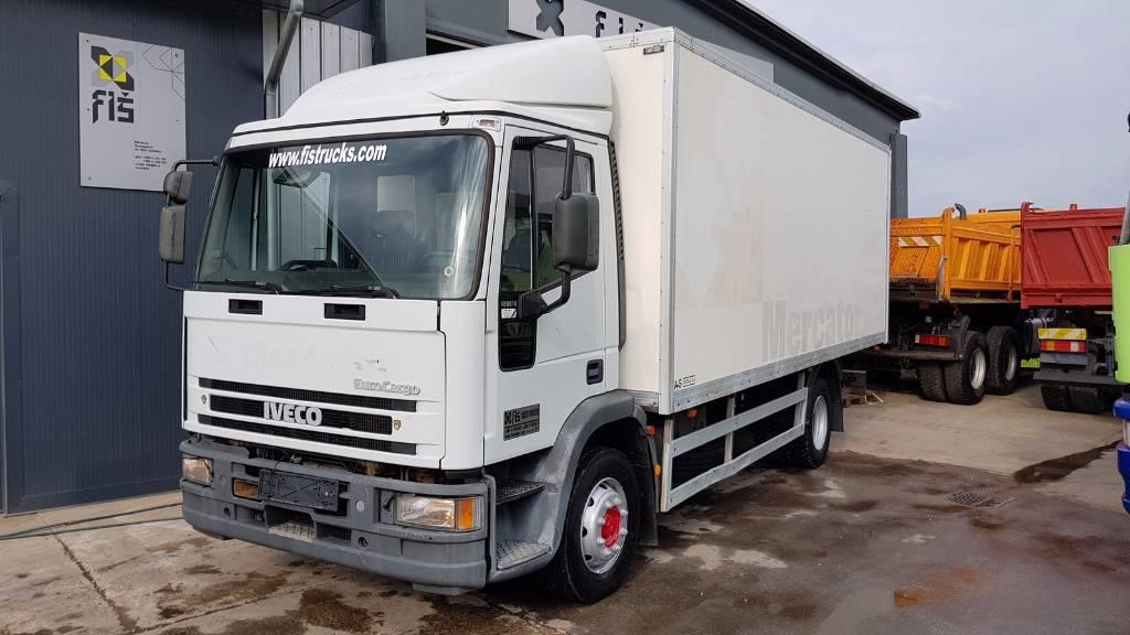 Used Iveco EUROCARGO ML120E18R box  ramp box trucks Year
