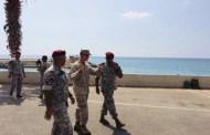 قائد القوّة البحرية في القيادة المركزية الأميركية يزور لبنان
