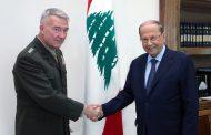قائد المنطقة الأميركية المركزية الوسطى يزور لبنان
