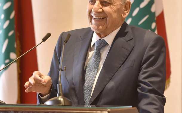 برّي أعلن الإطار العملي للتفاوض حول ترسيم الحدود البحرية والبرية في جنوب لبنان واليونيفيل ترحب