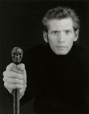 Autoritratto Robert Mapplethorpe 1988