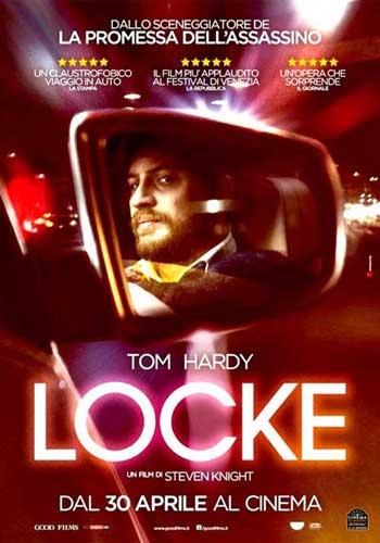 il poster italiano del film Locke