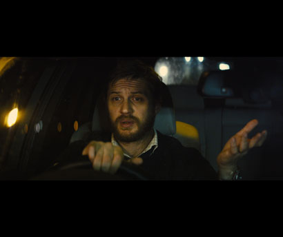 "Tom Hardy in una scena di ""Locke"" - Photo: courtesy of GoodFilms"