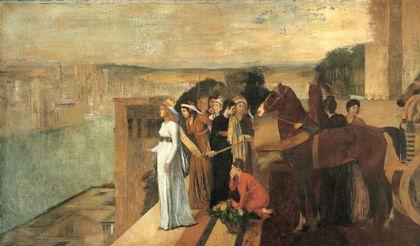 Semiramide alla costruzione di Babilonia di E. Degas