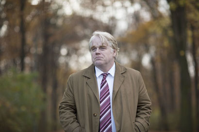 "Philip Seymour Hoffman nel film ""La Spia - Photo: courtesy of Notorius Pictures"