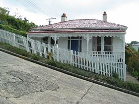 La pendenza di Baldwin Street... (c) David Yu - Flickr / Wikipedia