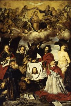Giovanni Serodine: incoronazione della Vergine (1630), chiesa parrocchiale di Ascona
