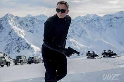 Daniel Craig in una scena di SPECTRE
