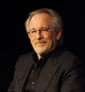 "Steven Spielberg during his masterclass at ""La Cinémathèque Française"" on January 9th, 2012 in Paris. Source: Sh.Wikipedia"