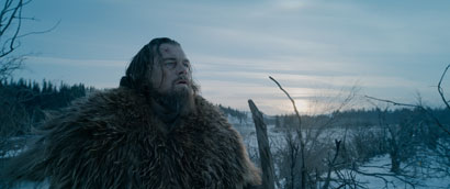 Leonardo DiCaprio in The Revenant - Photo: Courtesy of 20th Century Fox