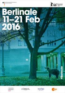 Berlinale 2016 official poster - Velvet Creative Office © Internationale Filmfestspiele Berlin