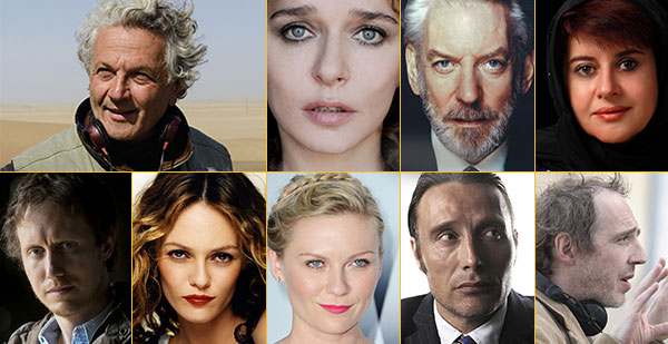 Il presidente e la giuria del 69° Festival de Cannes*