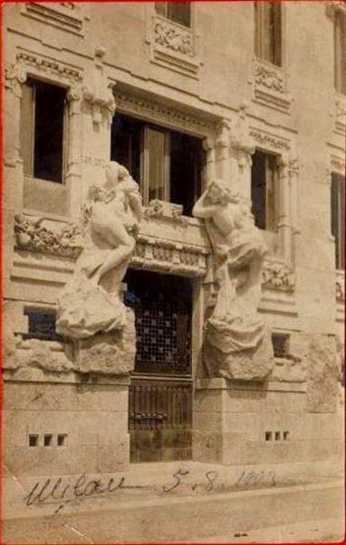Palazzo Castiglioni, Porta, 1903