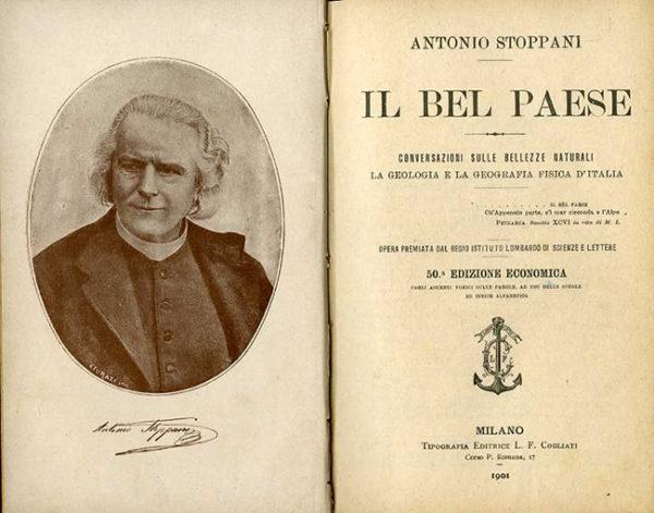 Antonio Stoppani, Il Bel Paese, 1876.