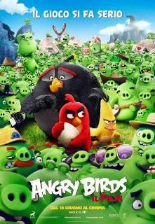 Il poster italiano di Angry Birds