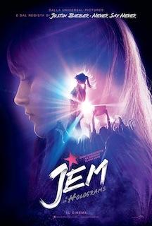 Il poster di Jem e le Holograms