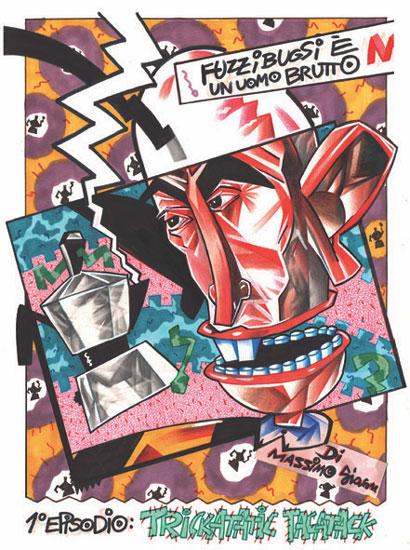 mostra FUMETTO ITALIANO _poster
