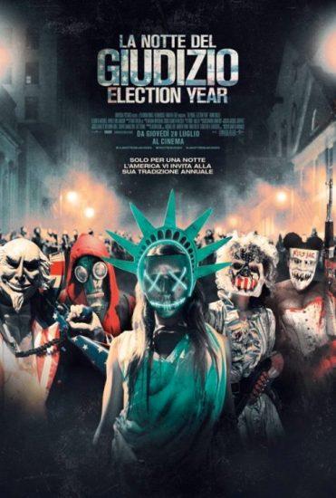 Il poster italiano del film La Notte del Giudizio - Election Year