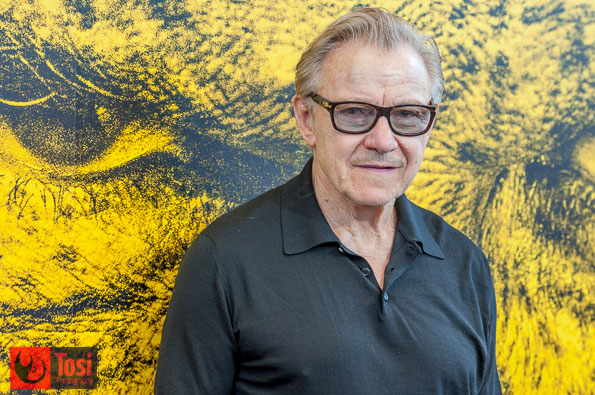 Harvey Keitel a Locarno 2016 - Foto di Tosi Photography
