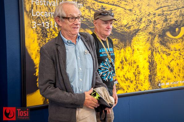 Ken Loach e Dave Johns a Locarno 2016 - Foto di Tosi Photography