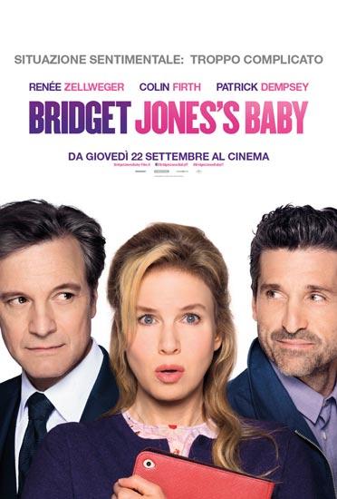 Il poster italiano del film Bridget Jones's Baby