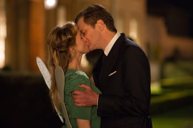 Renée Zellweger e Colin Firth in una scena del film Bridget Jones's Baby - Photo credit: Universal Pictures