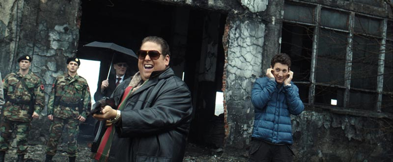 Jonah Hill e Miles Teller in Trafficanti - Photo: Courtesy of Warner Bros. Pictures