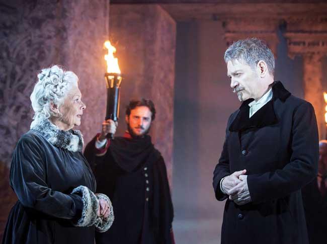 Judi Dench e Kenneth Branagh ne Il Racconto d'Inverno - Photo: courtesy of Nexo Digital