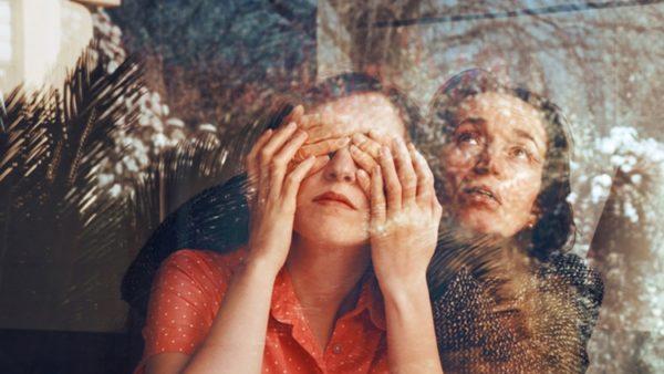 Mostre a Milano: Anna Di Prospero, Self-portrait with my Mother, 2011