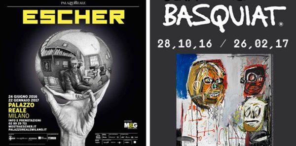 3 Escher Basquiat