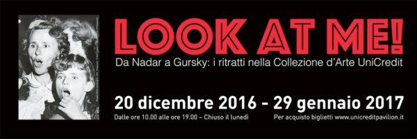 Mostre a Milano: la locandina di LOOK AT ME