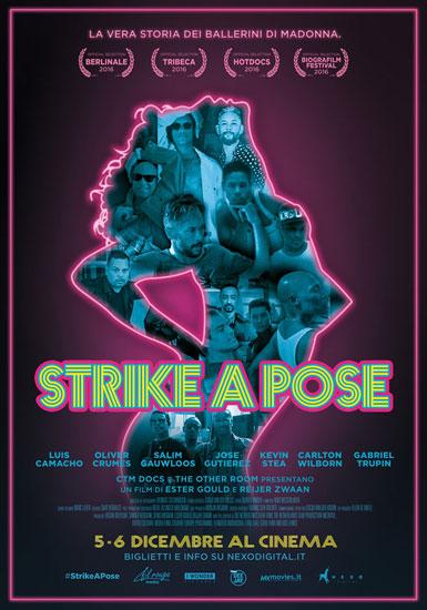 Il poster italiano del film Strike a Pose