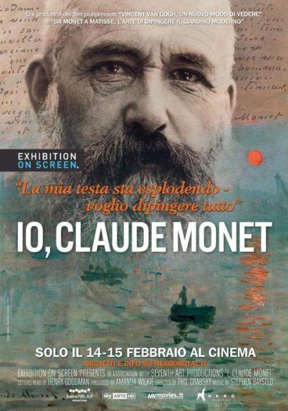 Il poster del film Io Claude Monet