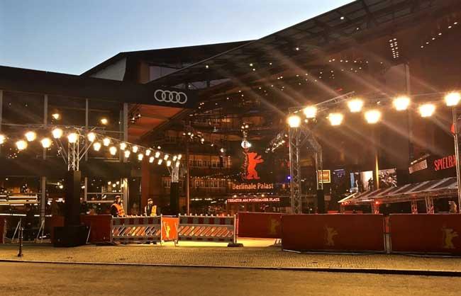 La quiete prima dei gala serali al Berlniale Palast © MaSeDomani