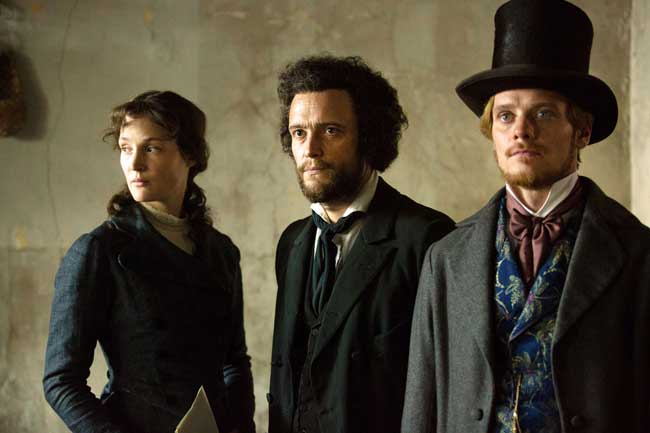 Berlinale Special Gala 2017 - Vicky Krieps, August Diehl e Stefan Konarske in The Young Karl Marx © Frederic Batier