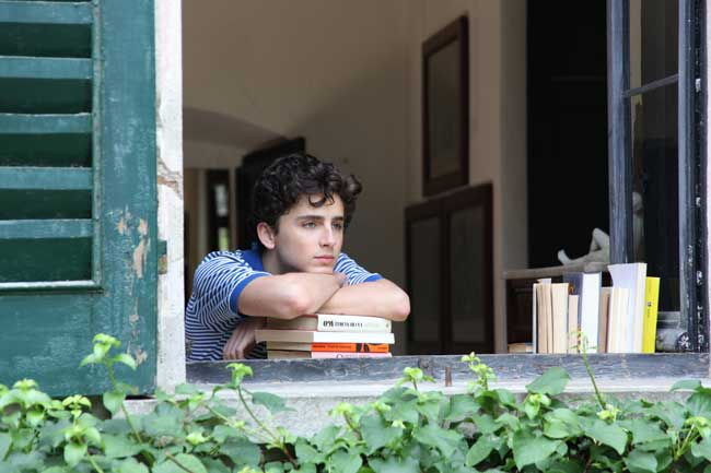 Timothée Chalamet in Call my by your Name (c) Sony Pictures Classics