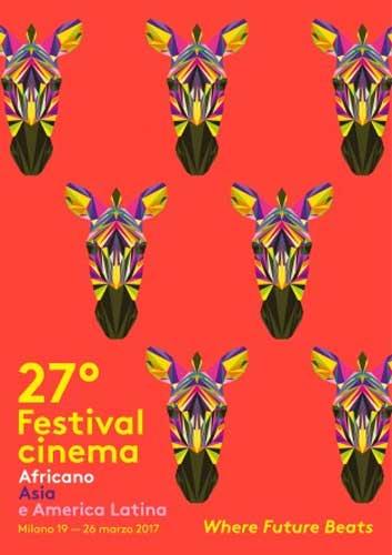 il poster del 27° Festival del Cinema Africano d'Asia e America Latina