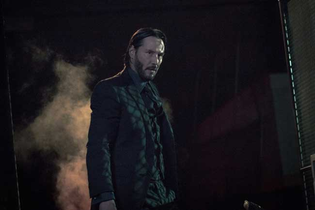 Keanu Reeves in John Wick Capitolo 2 - Photo: Eagle Pictures