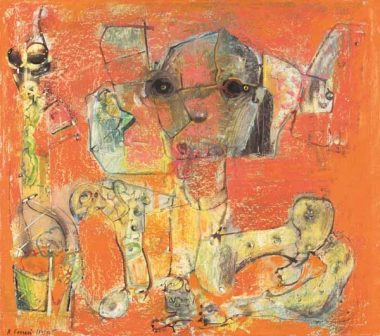 Le stanze svelate - Renzo Ferrari, La sfinge, 1973-74