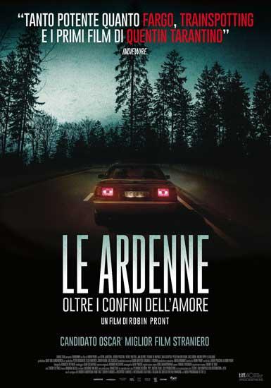 La locandina italiana del film Le Ardenne