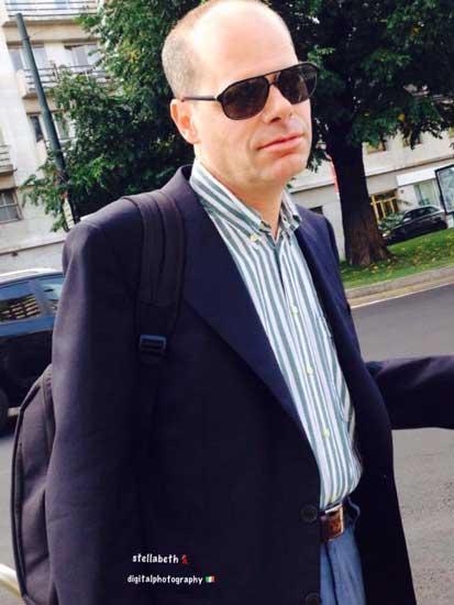 L'attore Paolo Riva
