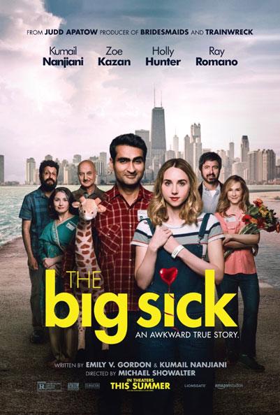 il poster del film The Big Sick