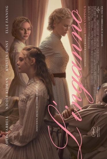 Il poster italiano del film L'Inganno (The Beguiled)