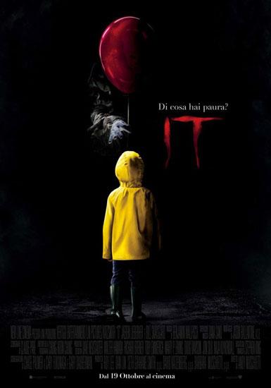 il poster italiano del film IT