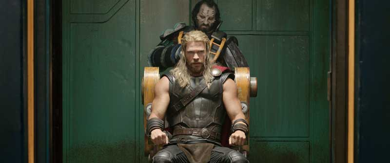 Una scena di Thor RAGNAROK - Photo courtesy of MARVEL Studios