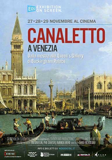 la locandina italiana di Canaletto a Venezia